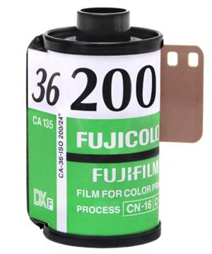 Fujifilm Fujicolor C200 135-36 Film Canister