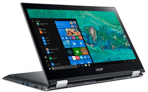 Acer Spin 3 SP314-51 14 i5-8250U 4GB 128SSD W10 Home Touch Flip