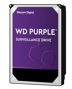 "Western Digital Purple SATA 3.5"" 7200RPM 256MB 10TB Surveillance Hard Drive"