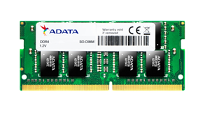 ADATA 4GB DDR4-2666 512x16 SODIMM Lifetime wty