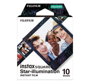Fujifilm Instax Square Film 10 Pack Illumination