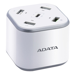 Adata 5 Port USB Charging Station with Qualcomm Quick Charge (48w max)