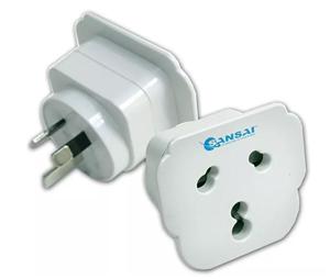 Sansai Inbound Travel Adapter - US/UK/EU to AU/NZ Plug
