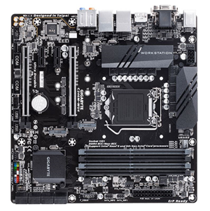 Gigabyte C246M-WU4 mATX LGA1151v2 Workstation Motherboard