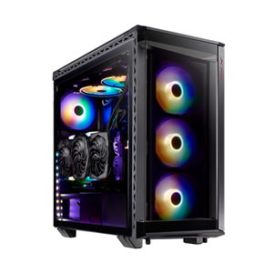 Adata XPG Battlecruiser Super Mid Tower Case Black