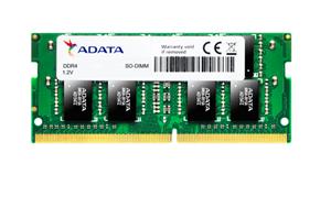 ADATA 16GB DDR4-2666 1024X8 SODIMM Lifetime wty BLK