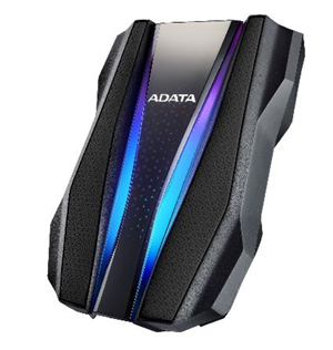 ADATA HD770G Durable External RGB HDD 1TB USB3.1 Black
