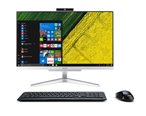 "Acer Aspire C24-320 23.8"" FHD A9-9425 8GB 128GB SSD 1TB AIO W10Home"