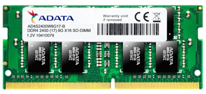 ADATA 16GB DDR4-2666 1024X8 SoDIMM Lifetime wty