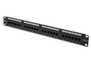 "Digitus 24-Port CAT6 19"" Patch Panel - Unshielded"
