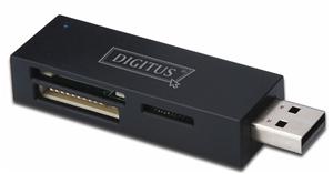 Digitus USB 2.0 Multi Card Reader Stick