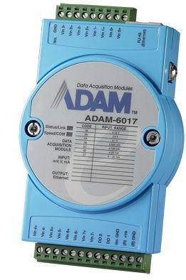 Advantech ADAM-6017-CE 8-Channel Analog Input with 2 Digital Outputs