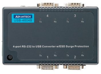 Advantech Usb 4604b Usb To 4 X Rs232 Serial From Dove