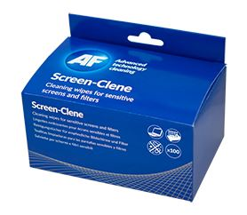 AF Screen-Clene Sachets Box of 100