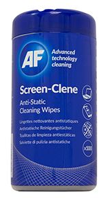 Af Screen Clene Wipes Tub Of 100 From Dove Electronics