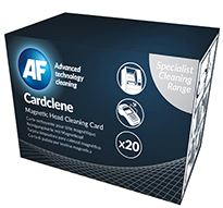 AF Cardclene Swipe / Entry Machine Cleaners - 20 Pack