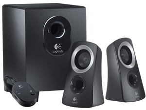 Logitech Z313 2.1 Channel 25W Multimedia Speakers