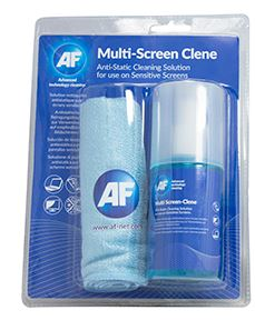 AF Screen-Clene + Large Microfibre Cloth ~ 200ml