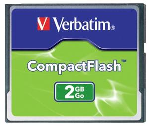 Verbatim Compact Flash Card 2GB