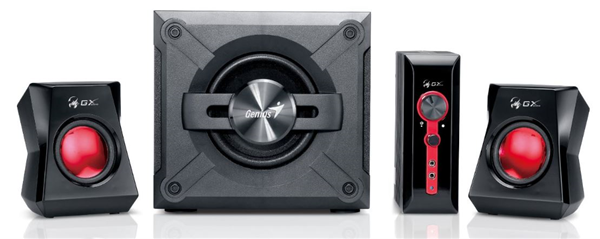 Genius Sw G2 1 1250 38w Gx Gaming 2 1 Speakers From Dove