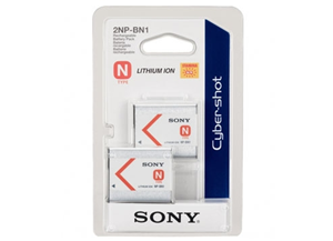 Sony 2NPBN1 Infolithium N Type Rechargable Battery Twin Pack
