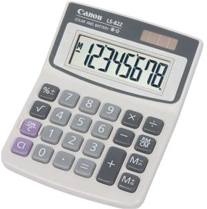 Canon LS82ZBL 8 Digit Mini Desktop Calculator
