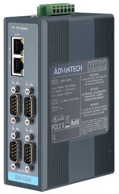 Advantech EKI-1224-BE 4 Port Modbus Gateway from Dove Electronics